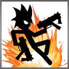 Stickman Zombie Shooter: Fight Platformer icon