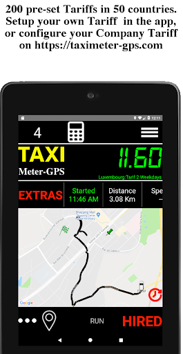 Taximeter-GPS 5.0.7.4 screenshots 2