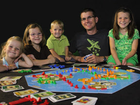 """Photo: Daniel - Settlers of Catan Nerd - He must be addressed by his children as """"my liege."""""""