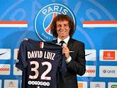 Le PSG privé de David Luiz contre le Barça