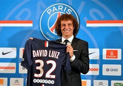 David Luiz a évolué pour la première fois au Parc des Princes