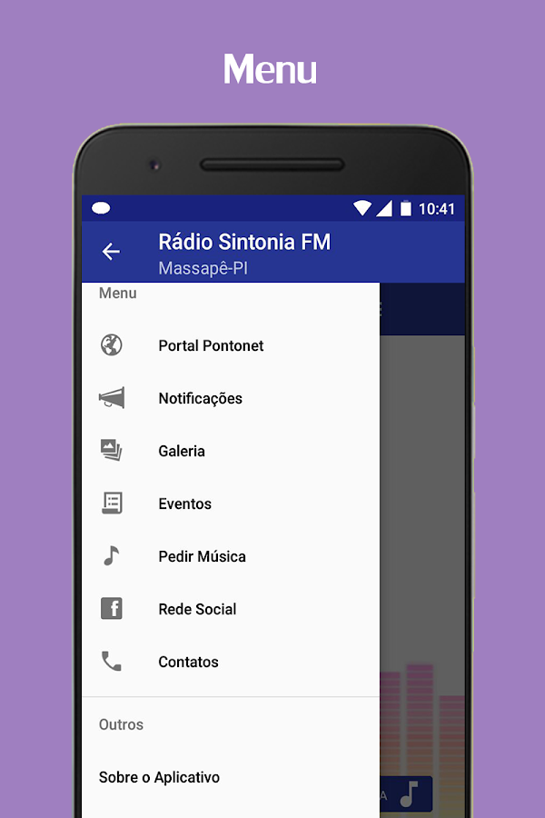 Sintonia FM- screenshot