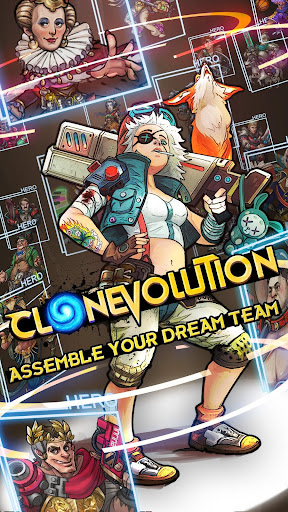 Clone Evolution: Science Fiction Idle RPG 1.1.3 screenshots 1