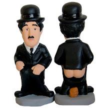 Photo: Caganer Charles Chaplin