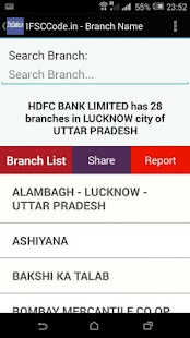 Bank IFSC Code- screenshot thumbnail