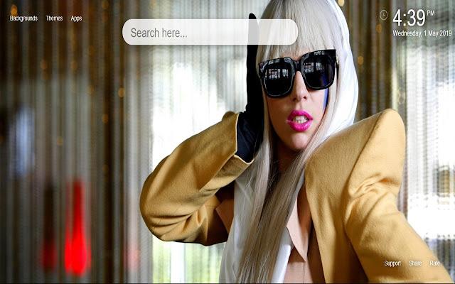 Lady Gaga HD Wallpapers Themes