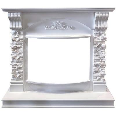 Портал Royal-flame prague сланец бежевый белый под Jupiter