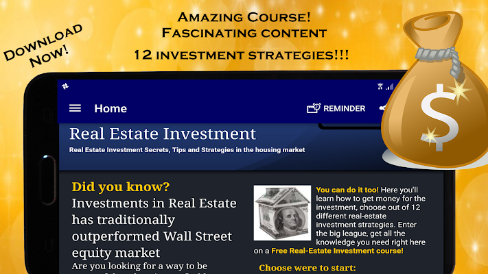 Real Estate Investing Course: Property investment - screenshot