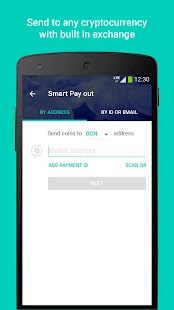 Bytecoin Wallet by Freewallet - náhled