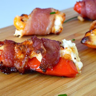 Bacon Cheese Pepper Poppers.