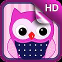 Sweet Owl Live Wallpaper icon