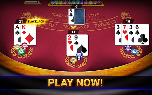 Blackjack Casino 2020: Blackjack 21 & Slots Free apkpoly screenshots 9