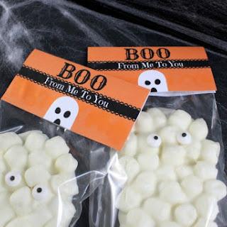 Chocolate Marshmallow Ghost Treats Recipe