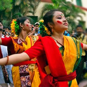 Dance by Suman Rakshit - People Street & Candids