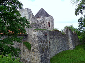 Photo: Much of Cesis Castle is in ruins, but there is still plenty to see.  Ivan the Terrible destroyed some of it in 1577 when he briefly took the city.