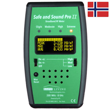 Safe and Sound Pro II Måleinstrument  EMF