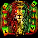 Reggae King Lion Keyboard Theme icon