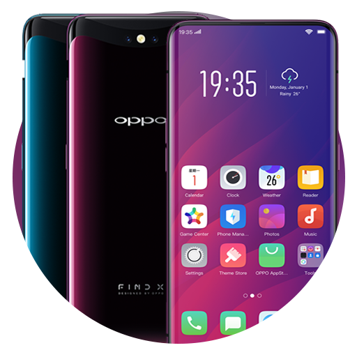 Themes for OPPO Find X: OPPO Find X wallpaper - Apps on