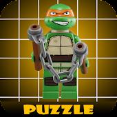 Slide Puzzle Lego Ninja Turtle