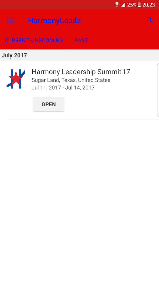 Harmony Leadership Summit- screenshot