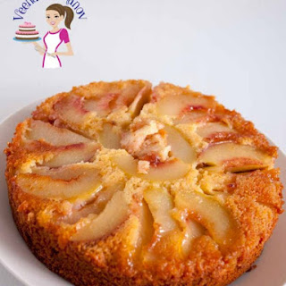 Moist Peach Upside Down Cake – Coffee Cake.