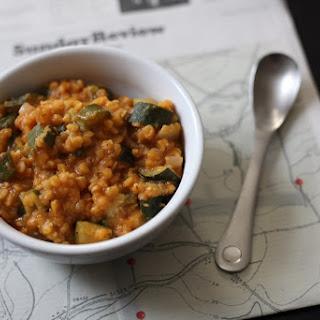 Zucchini Lentil Stew