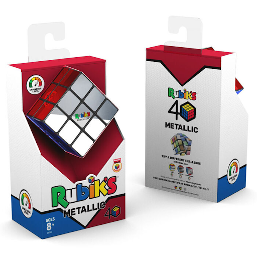 Metallic Rubik's Cube