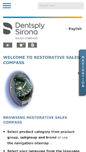 Dentsply Sirona Sales Compass screenshot 0