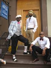 Photo: Dandy Wellington con Harlem James Gang
