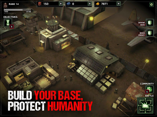 Zombie Gunship Survival apkslow screenshots 9