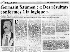 Photo: Germain Saumen, président LLVB