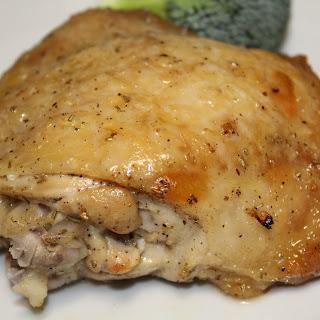 Lemon Garlic Rosemary Roasted Chicken Thighs Recipe