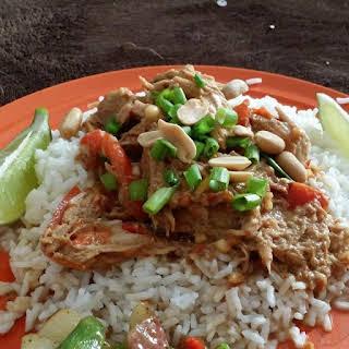 Slow Cooker Thai Pork.