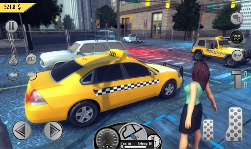 Real Taxi Sim 2018 3.1 screenshots 4