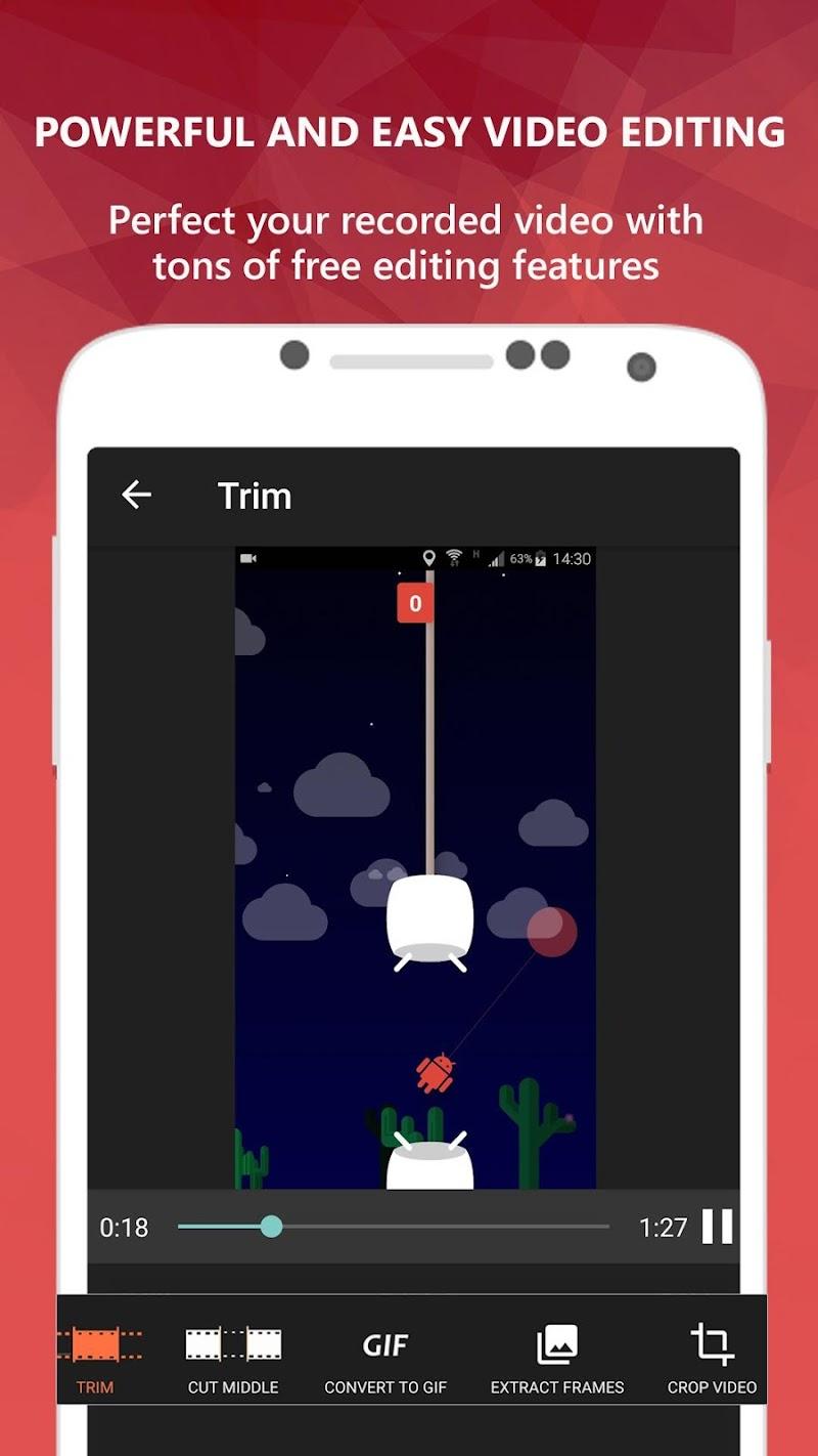 AZ Screen Recorder - No Root Screenshot 4