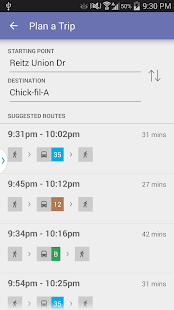 Gainesville Bus Tracker- screenshot thumbnail