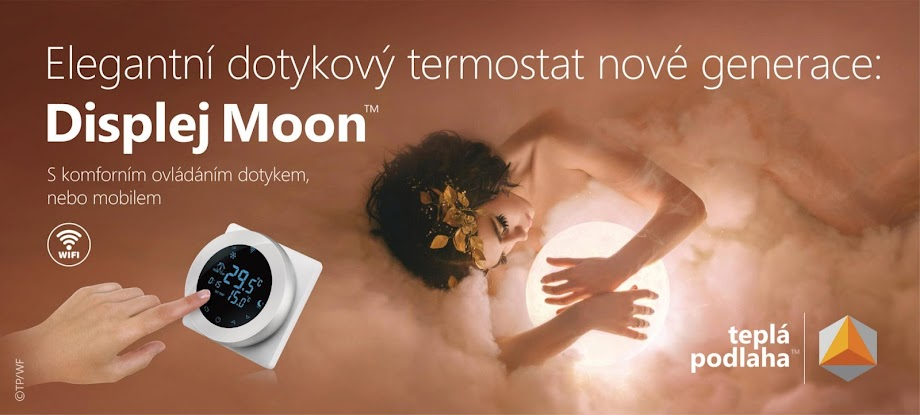 Displej Moon touch screen thermostat