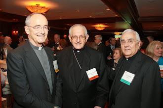 Photo: Fr Michael Czerny S.J., Archbishop Joseph A. Fiorenza and Fr. Donald Nesti CSSp