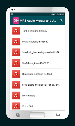 MP3 Audio Merger and Joiner 4.4 screenshots 1