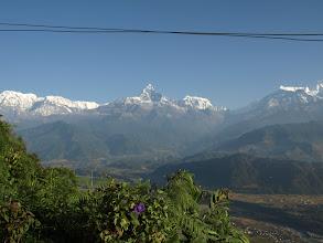 Photo: Sarangkot: Sunrise over the Annapurna Range