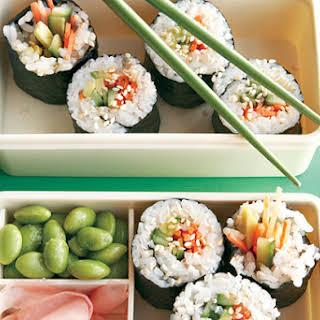 Veggie Sushi Rolls.
