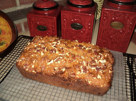 Banana Streusel Bread (w/werther's caramel candy) Recipe