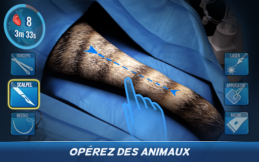 Code Triche Operate Now: Animal Hospital APK MOD screenshots 6