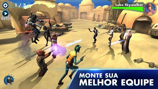 Star Wars™: Galaxy of Heroes: miniatura da captura de tela