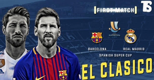 Her kan du se FC Barcelona vs Real Madrid