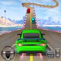 Crazy Car Driving Simulator: Impossible Sky Tracks icon