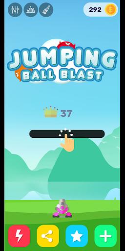 Télécharger Jumping Ball Blast - Fire Balls Shooter 2020 apk mod screenshots 2