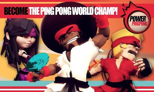 Power Ping Pong Imagen do Jogo