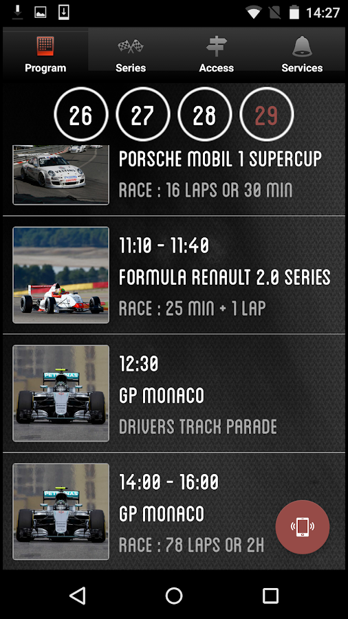 Circuit of Monaco- screenshot