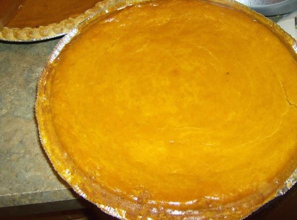 Pumpkin Pie With A Twist Recipe